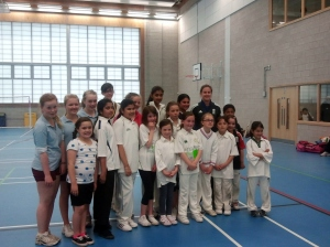 Fantastic Training Session for the Girls with Lydia Greenway