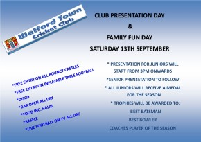 PRESENTATION AND FAMILY FUN DAY