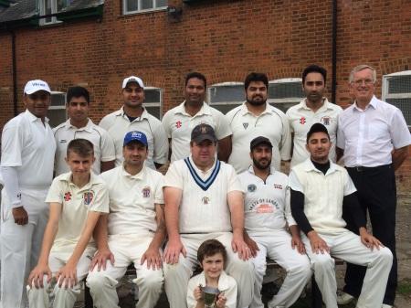 Watford Town III Div 11 Winners